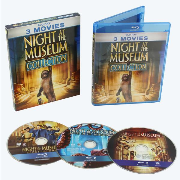 Night at the Museum 3-Movie Collection [Blu-ray] - DVD ...