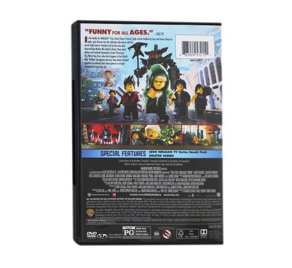 The Lego Ninjago Movie - DVD Wholesale