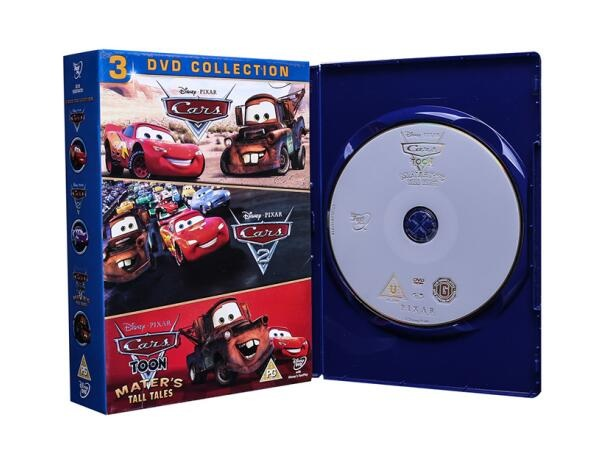 Cars 3 Dvd Collection Uk Dvd Wholesale