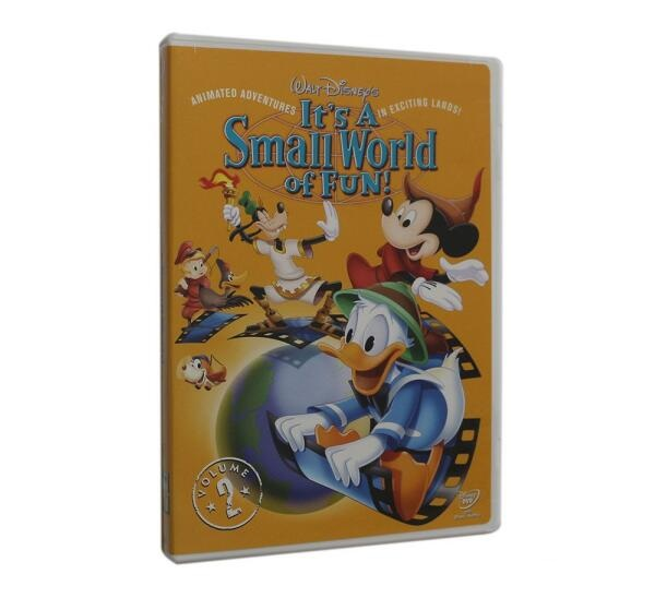 Walt Disney S It S A Small World Of Fun Vol 2 Dvd Wholesale