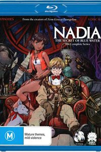 Nadia The Secret of Blue Water Complete Series [blu-ray]