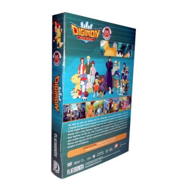Digimon Data Squad Season 5 Dvd Wholesale
