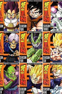 Dragonball Z Complete Seasons 1-9 Box sets (9 Box Sets)