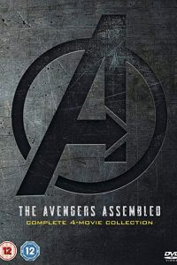 Avengers 1-4 Complete 2019 UK Region