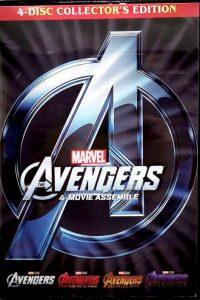 Avengers 1-4
